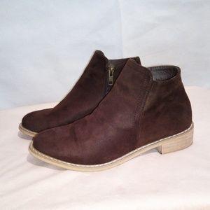 Seven7 Dark Brown Cisco Kid Booties Size010